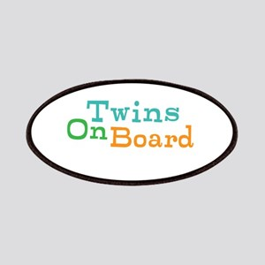 Twins On Board Patches